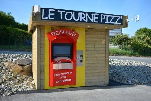Abri Professionnel Distributeur De Pizzas Les Abris De L