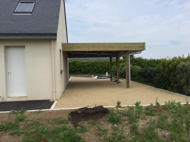 Abris de jardin, terrasse, carport, garage en bois sur ...
